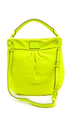 Marc By Marc Jacobs Electro Q Hillier Hobo Bag Safety Yellow