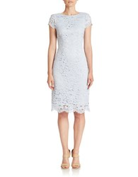 Erin Fetherston Lucienne Lace Sheath Dress Light Lake