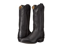 Frye Billy Pull On Black Washed Oiled Vintage Cowboy Boots