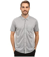 Travis Mathew Potter Woven Quiet Shade Men's Clothing Gray