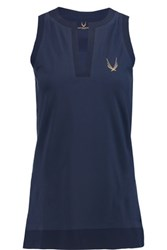 Lucas Hugh Floe Stretch Top Midnight Blue