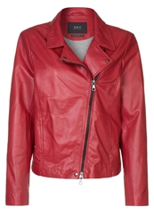 Set Leather Jacket Red