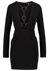 Missguided Cocktail Dress Party Dress Black