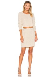 Bb Dakota Jack By Macey Sweater Dress Beige