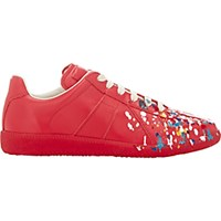 Maison Martin Margiela Women's Paint Splatter Replica Sneakers Red