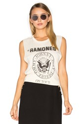 Daydreamer Ramones Tour Tank Cream