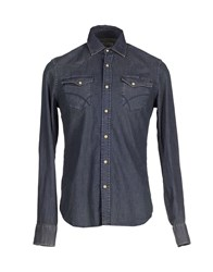 Gas Jeans Gas Denim Denim Shirts Men Blue