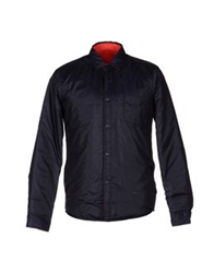 M.Grifoni Denim Jackets Bright Blue