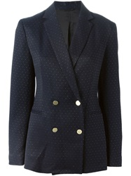 3.1 Phillip Lim Studded Blazer Blue