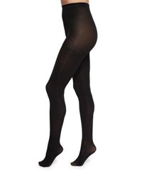 Neiman Marcus Opaque Tights Black
