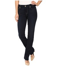 7 For All Mankind Kimmie Straight In Dark Dusk Indigo Dark Dusk Indigo Women's Jeans Blue