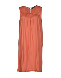 Pringle 1815 Short Dresses Orange