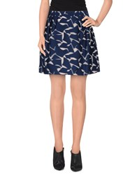 Viktor And Rolf Skirts Mini Skirts Women Dark Blue