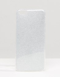 Signature Glitter Iphone 6 Case Silver