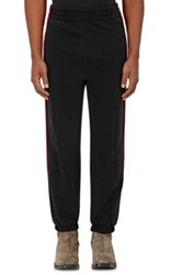 Vetements Men's Side Striped French Terry Sweatpants Black