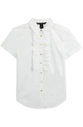 Marc By Marc Jacobs Cotton Blouse With Ruffles