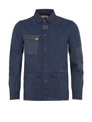 Realm And Empire Desert Patch Explorer Overshirt Navy