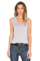 Feel The Piece Taura V Neck Tank Gray