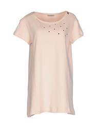 Pinko Grey Topwear Sweatshirts Women Light Pink