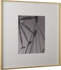 Cb2 Gallery Brass 11X14 Picture Frame