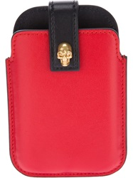 Alexander Mcqueen Skull Blackberry Case Red
