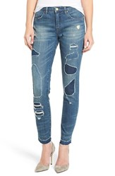 Blank Nyc Women's Blanknyc So Called Life Destroyed Skinny Jeans