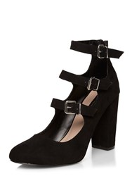 Dorothy Perkins Dandelion Buckle Court Black