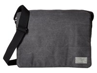 Hex Messenger Supply Charcoal Messenger Bags Gray