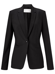 Hugo Boss Boss Jabina Wool Blend Blazer Black