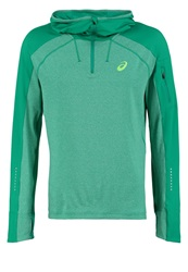 Asics Hoodie Jungle Green Heather