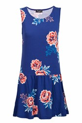 Indulgence T Dress Blue