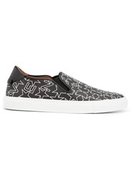 Givenchy Geometric Print Sneakers Black