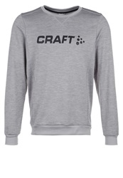 Craft Precise Sweatshirt Grey Melange Mottled Grey