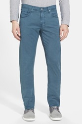 Ag Jeans Matchbox Slim Straight Leg Pant Blue
