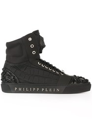 Philipp Plein 'Tonight' Hi Top Sneakers Black
