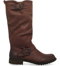 Miss Kg Winter Knee High Boots Brown