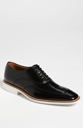 Men's Michael Toschi 'Luciano' Patent Leather Wingtip Black