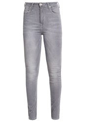 Lee Skyler Slim Fit Jeans Clean Silver Grey Denim