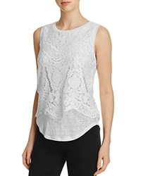 Generation Love Celine Lace Tank White