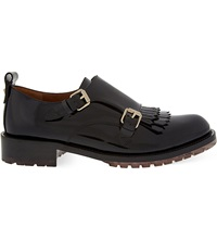 Valentino B Formal Derby Shoes Black
