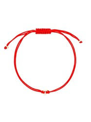 Natasha Collis Nugget Friendship Bracelet Red