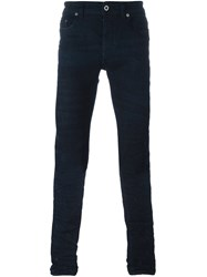 Diesel Black Gold Skinny Jeans Blue