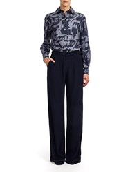 Alexis Mabille Pleated Pants Black