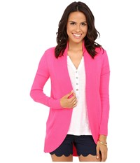 Lilly Pulitzer Amalie Cardigan Dragonfruit Pink Women's Sweater
