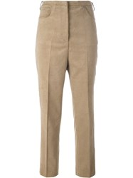 Golden Goose Deluxe Brand Corduroy Trousers Nude And Neutrals