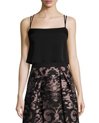 Milly Emery Silk Camisole Black