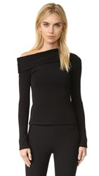 Rag And Bone Carmen Top Black
