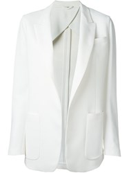 Fay Patch Pocket Blazer White