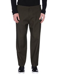 Wooyoungmi Trousers Casual Trousers Men Dark Green