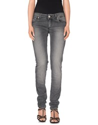Dondup Denim Denim Trousers Women Grey